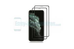 iPhone 11 Pro Protection écran (x2) Verre Trempé 5D