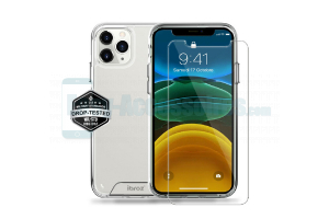 iPhone 11 Pro Coque Antichoc Bayer + Verre Trempé