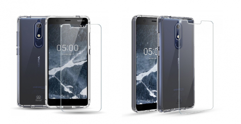 Pack Nokiai® 5.1 Antishock Clear Case+ Glass